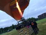 Fabuleuze ballon vlucht opgestegen in Oosterhout zaterdag 23 juni 2018