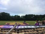 Verbluffende heteluchtballonvaart opgestegen in Veenendaal zaterdag 23 juni 2018