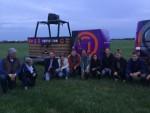 Fascinerende heteluchtballonvaart gestart op opstijglocatie Veenendaal zaterdag 23 juni 2018