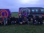 Verrassende ballonvlucht boven de regio Veenendaal zaterdag 23 juni 2018