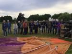 Heerlijke ballon vaart opgestegen op startveld Veenendaal zaterdag 23 juni 2018
