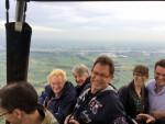 Sublieme ballonvlucht startlocatie Beesd zaterdag 23 juni 2018