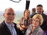Grandioze ballon vlucht gestart op opstijglocatie Beesd zaterdag 23 juni 2018