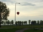 Prettige ballon vlucht in Beesd zaterdag 28 april 2018