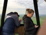 Comfortabele ballonvaart boven de regio Beesd zaterdag 28 april 2018