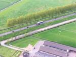 Weergaloze luchtballon vaart vanaf startlocatie Beesd zaterdag 28 april 2018