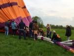 Meesterlijke ballonvlucht in de buurt van Hoogland zaterdag 28 april 2018
