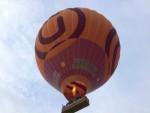 Jaloersmakende luchtballonvaart in de omgeving van Hoogland zaterdag 28 april 2018