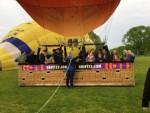 Exceptionele ballonvlucht gestart op opstijglocatie Hoogland zaterdag 28 april 2018