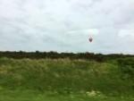 Adembenemende ballon vaart in Hoogland zaterdag 28 april 2018