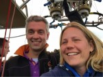 Buitengewone ballonvaart vanaf opstijglocatie Hoogland zaterdag 28 april 2018