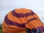 Waanzinnige ballon vaart opgestegen op startveld Hoogland zaterdag 28 april 2018