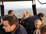 Prettige heteluchtballonvaart startlocatie Hoogland zaterdag 28 april 2018