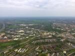 Voortreffelijke luchtballon vaart opgestegen in Hoogland zaterdag 28 april 2018