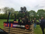 Fantastische ballonvlucht regio Oss zaterdag 28 april 2018
