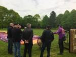 Sublieme luchtballonvaart vanaf startveld Oss zaterdag 28 april 2018