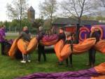 Mooie heteluchtballonvaart in Oss zaterdag 28 april 2018