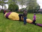 Super ballon vaart vanaf startlocatie Oss zaterdag 28 april 2018