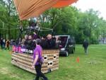Te gekke heteluchtballonvaart opgestegen op opstijglocatie Oss zaterdag 28 april 2018