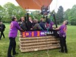 Hoogstaande luchtballon vaart regio Oss zaterdag 28 april 2018