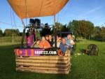 Weergaloze ballonvlucht in de buurt van Wijchen op zaterdag 29 september 2018