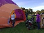 Adembenemende luchtballonvaart startlocatie Wijchen op zaterdag 29 september 2018