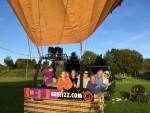 Comfortabele luchtballon vaart gestart in Wijchen op zaterdag 29 september 2018