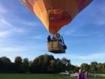 Ongekende luchtballon vaart vanaf startlocatie Wijchen op zaterdag 29 september 2018