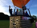 Fabuleuze ballonvlucht opgestegen op startlocatie Wijchen op zaterdag 29 september 2018