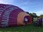 Overweldigende heteluchtballonvaart gestart op opstijglocatie Wijchen op zaterdag 29 september 2018