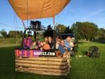 Exceptionele ballonvaart opgestegen op opstijglocatie Wijchen op zaterdag 29 september 2018