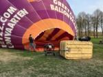 Uitstekende ballonvlucht opgestegen in 's-hertogenbosch op zaterdag 30 maart 2019