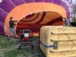 Onovertroffen ballon vlucht vanaf opstijglocatie 's-hertogenbosch op zaterdag 30 maart 2019