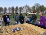 Ongekende heteluchtballonvaart opgestegen op opstijglocatie 's-hertogenbosch op zaterdag 30 maart 2019