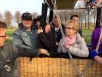 Ongeëvenaarde luchtballon vaart gestart in 's-hertogenbosch op zaterdag 30 maart 2019