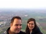 Indrukwekkende heteluchtballonvaart opgestegen op startlocatie Tilburg op zaterdag 30 maart 2019