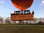 Ongeëvenaarde ballon vaart vanaf startveld Tilburg op zaterdag 30 maart 2019