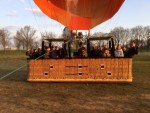 Uitmuntende ballon vlucht opgestegen op startveld Tilburg op zaterdag 30 maart 2019