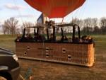 Bijzondere ballonvlucht opgestegen op startlocatie Tilburg op zaterdag 30 maart 2019