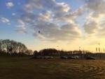 Geweldige ballon vlucht in de omgeving van Tilburg op zaterdag 30 maart 2019