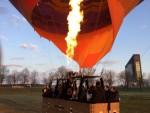 Professionele luchtballonvaart vanaf startveld Tilburg op zaterdag 30 maart 2019