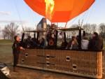 Uitzonderlijke ballonvlucht vanaf startlocatie Tilburg op zaterdag 30 maart 2019
