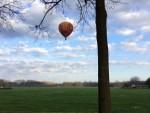 Sublieme luchtballonvaart opgestegen op opstijglocatie Tilburg op zaterdag 30 maart 2019