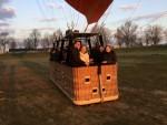 Te gekke heteluchtballonvaart omgeving Tilburg op zaterdag 30 maart 2019