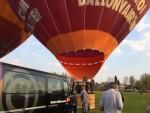 Heerlijke ballon vlucht gestart op opstijglocatie Venray op zaterdag 30 maart 2019