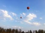 Fenomenale ballon vaart in de omgeving Venray op zaterdag 30 maart 2019