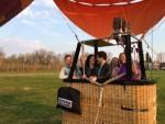 Adembenemende heteluchtballonvaart omgeving Venray op zaterdag 30 maart 2019