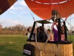 Prettige ballon vlucht boven de regio Venray op zaterdag 30 maart 2019