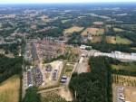 Verrassende ballonvlucht vanaf startlocatie Enschede zaterdag  4 augustus 2018
