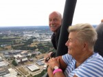 Fascinerende ballonvaart in Enschede zaterdag  4 augustus 2018